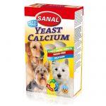 قرص مکمل کلسیم با مخمر مناسب سگ برند سانال 100 گرمی