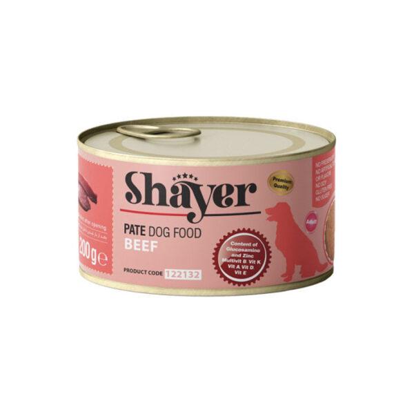 shaye pate cat food beef 200g