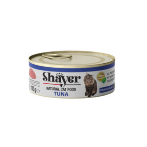 shayer cat food tuna