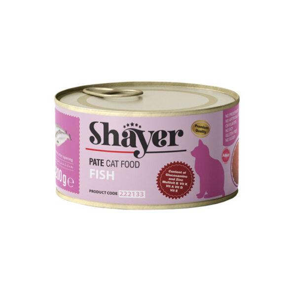 shayer pate cat food fish 200 g