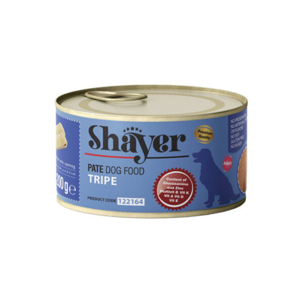 shayer pate food dog tripe